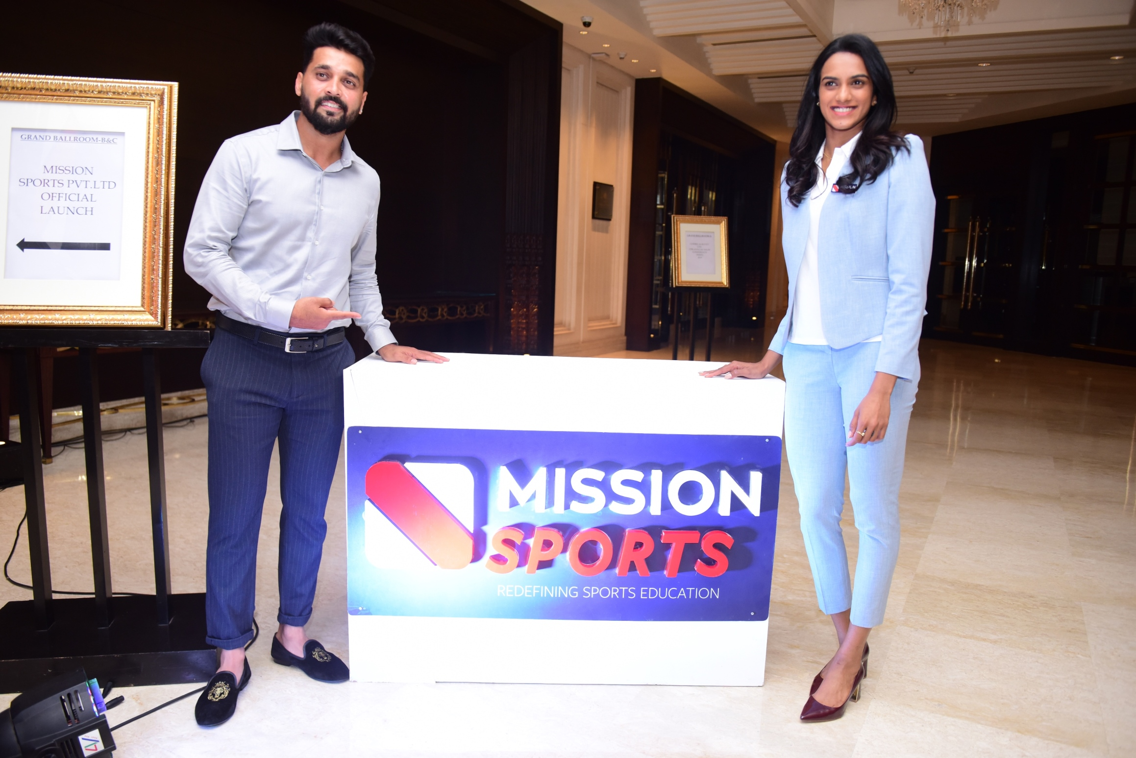 PV Sindhu launches Mission Sports Mobile App & Sports Fitness Card