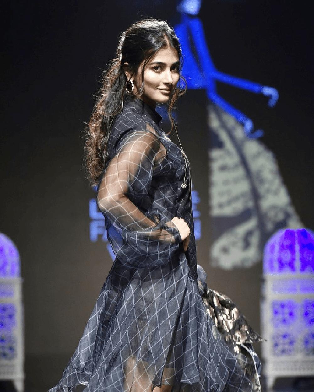 Pooja Hegde Ramp Walk @ Lakme Fashion Week 2019 Day 4