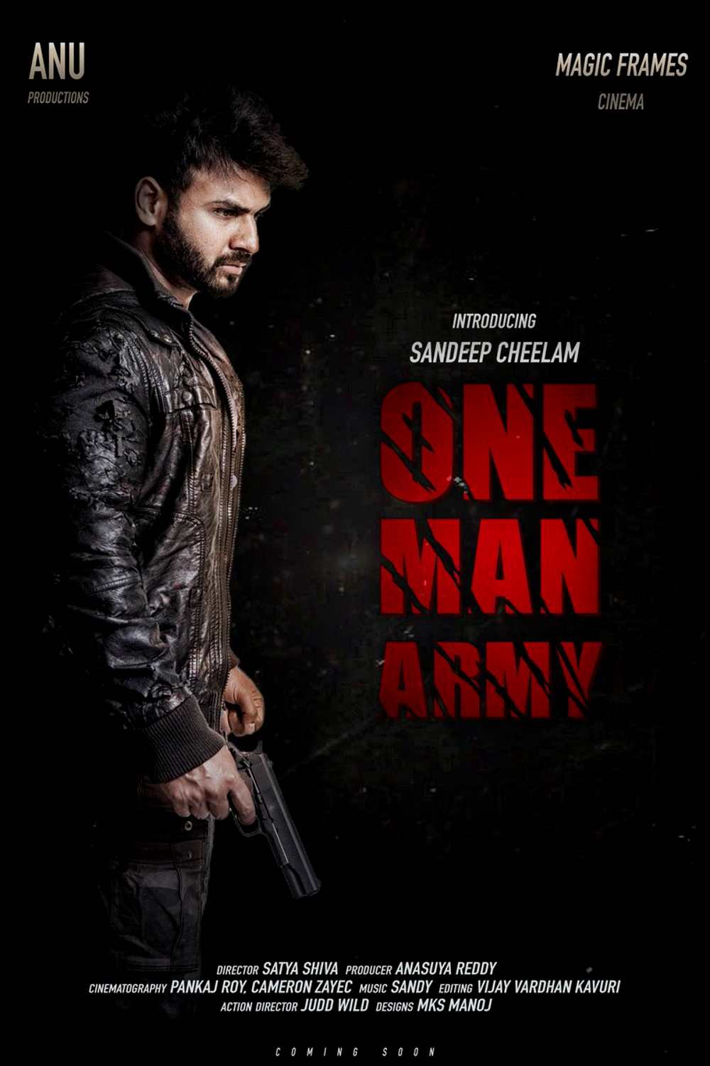 Sandeep Cheelam One Man Army first look poster