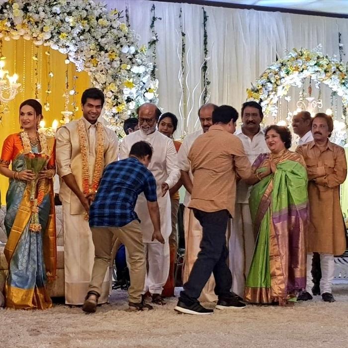 Soundarya Rajinikanth Vishagan Pre Wedding Reception