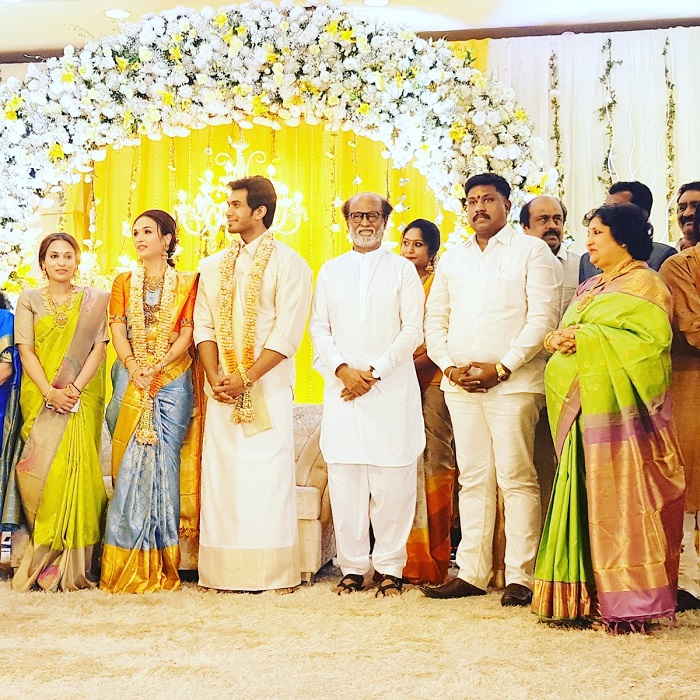 Soundarya Vishagan Pre Wedding Reception Pics