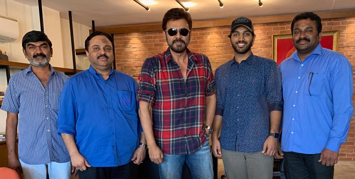 Victory Venkatesh congratulated 4 Letters Movie Team