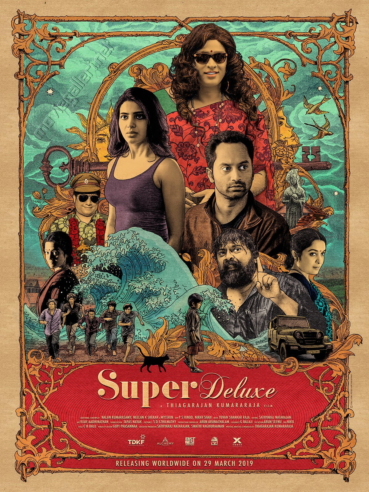 Vijay Sethupathi Super Deluxe Movie 2nd Look Posters HD