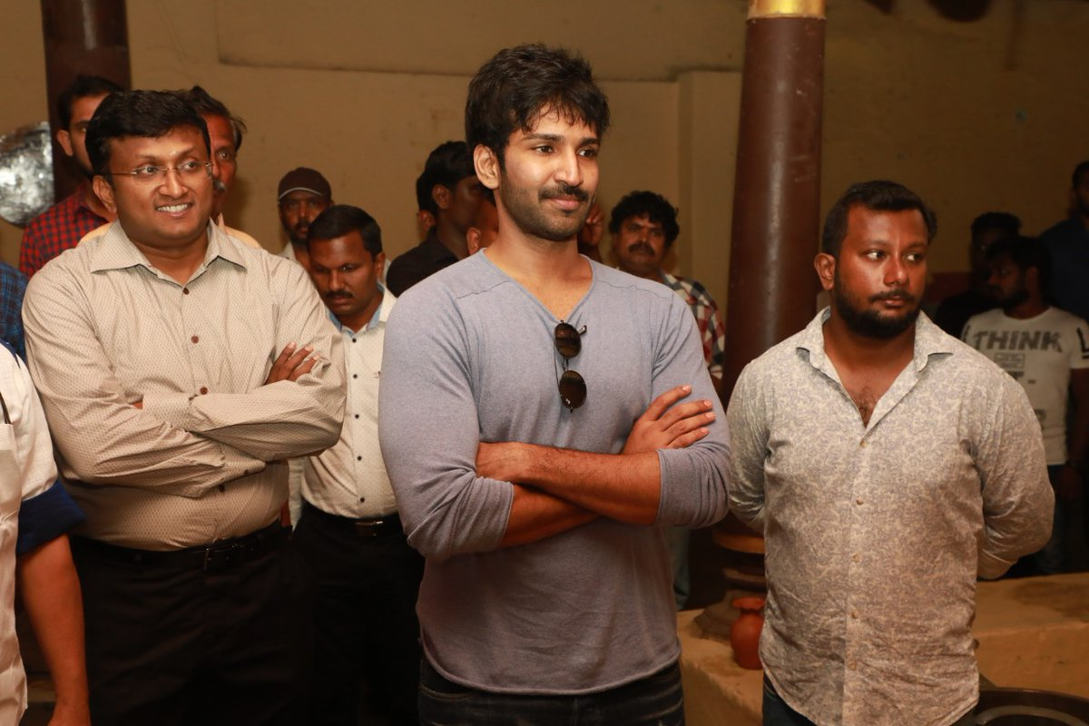 Aadhi @ Partner Movie Pooja Stills