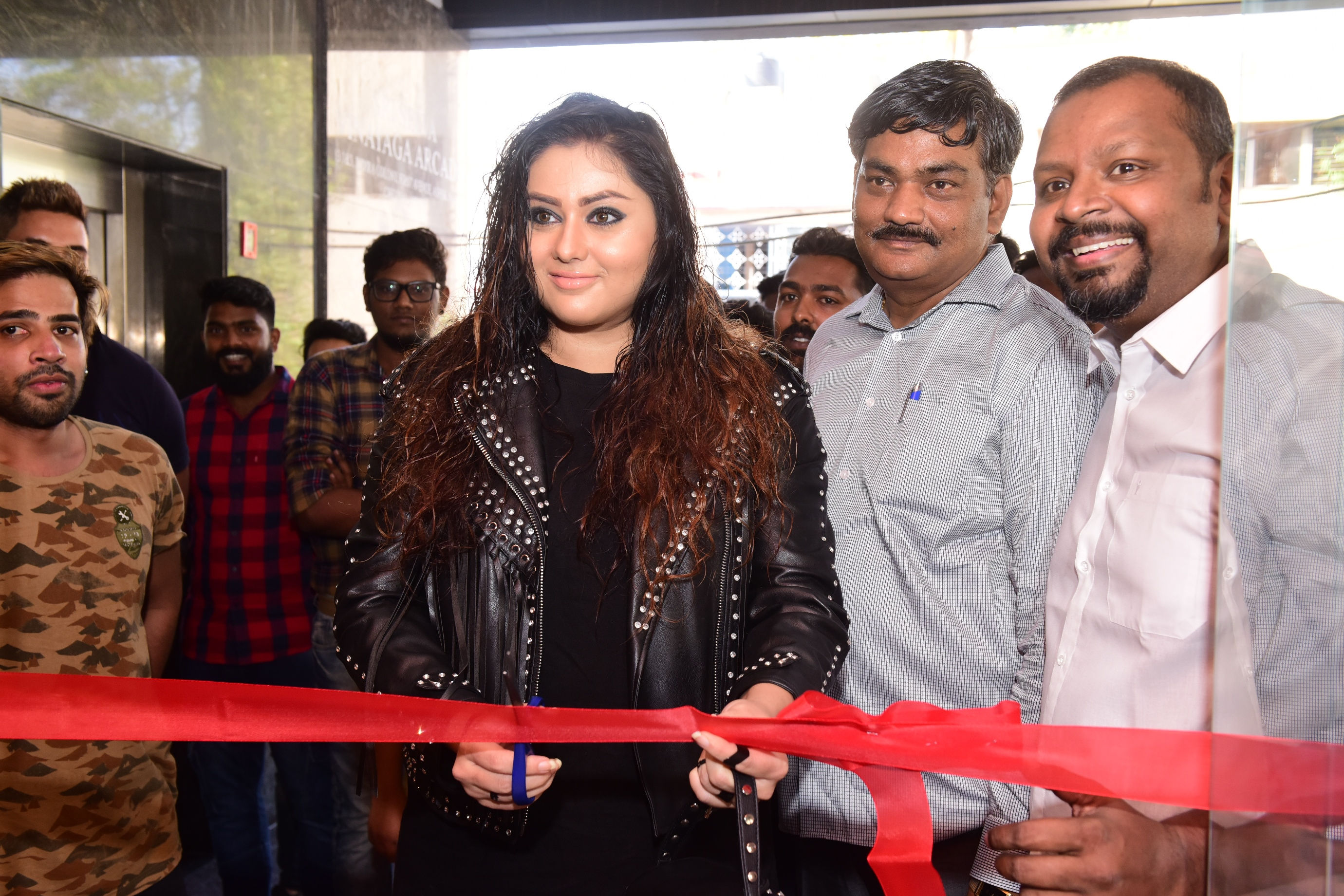 Actor Namitha & Sam Paul launching 'Sulthan's Biriyani and Much More'