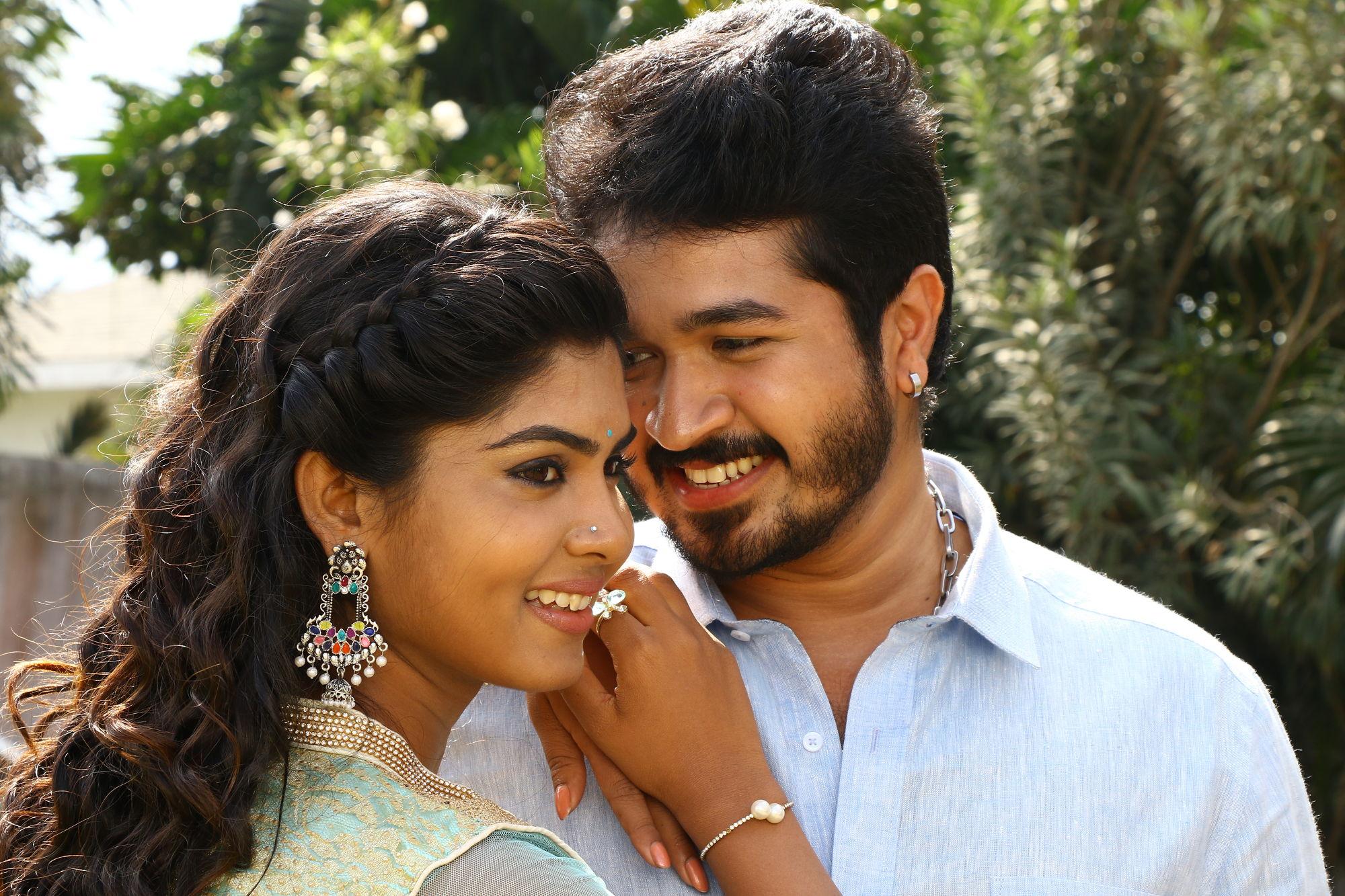 Actor SSR Ariyan, Actress Upasana Rai starring Karuthukkalai Pathivu Sei Movie Stills. Directed by Rajasekar.