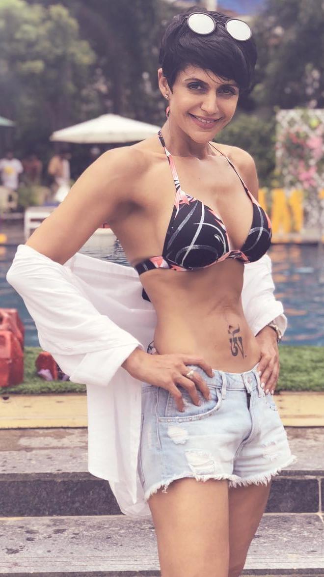 Actress Mandira Bedi in Akash Puri's Romantic Movie