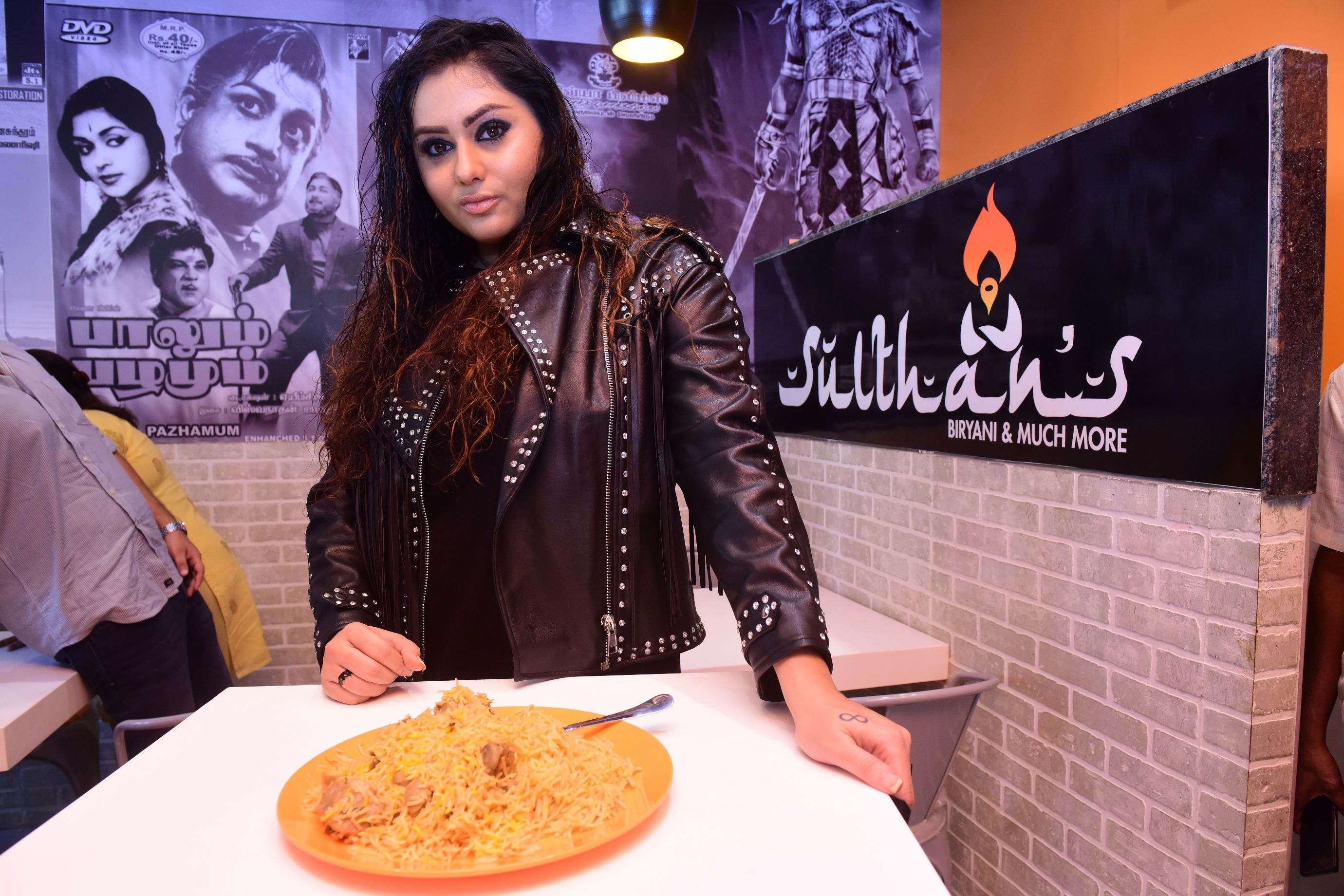 Actress Namitha launches 'Sulthan's Biriyani and Much More'
