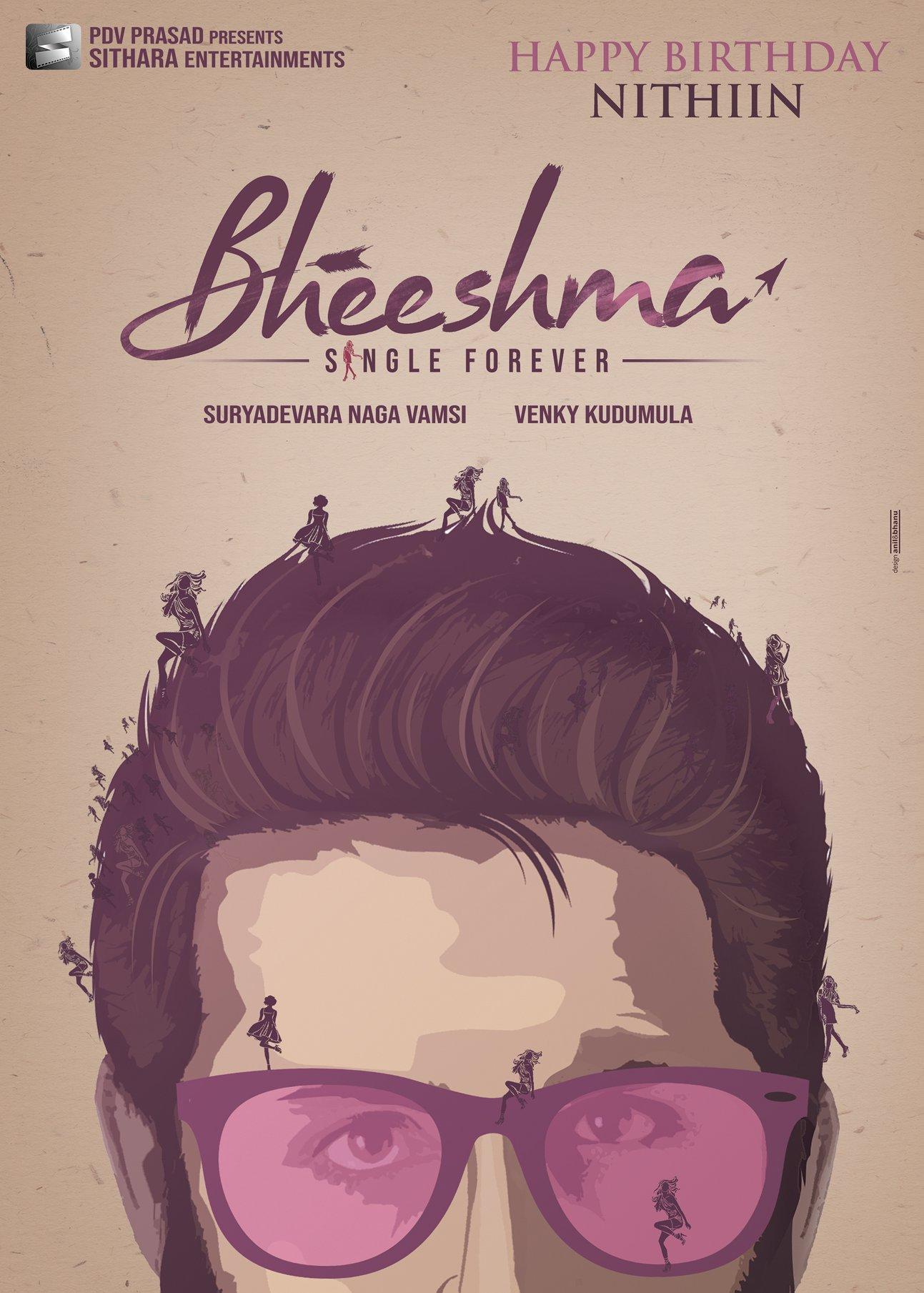Bheeshma Single Forever Nithin Birthday Wishes Poster HD