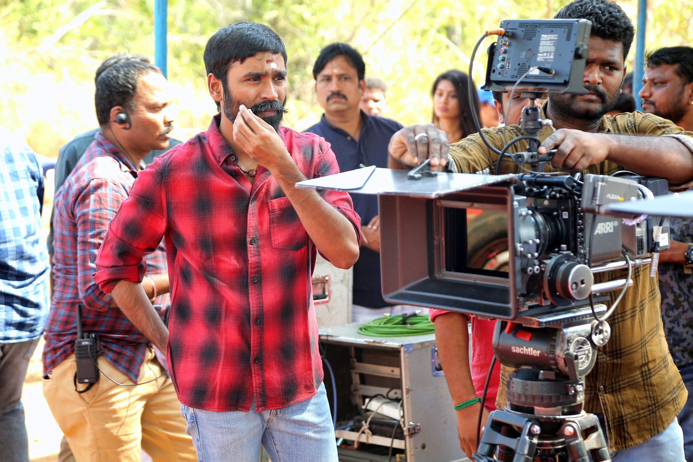 Dhanush Durai Senthilkumar Movie Pooja Stills