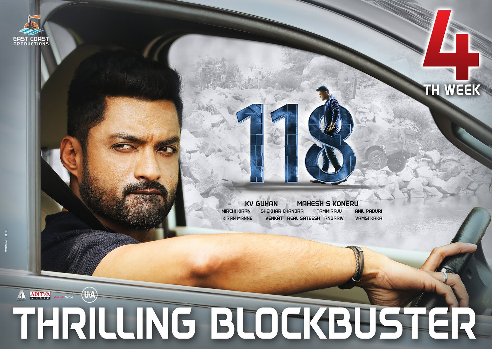 Kalyan Ram 118 Movie 4th Week Posters