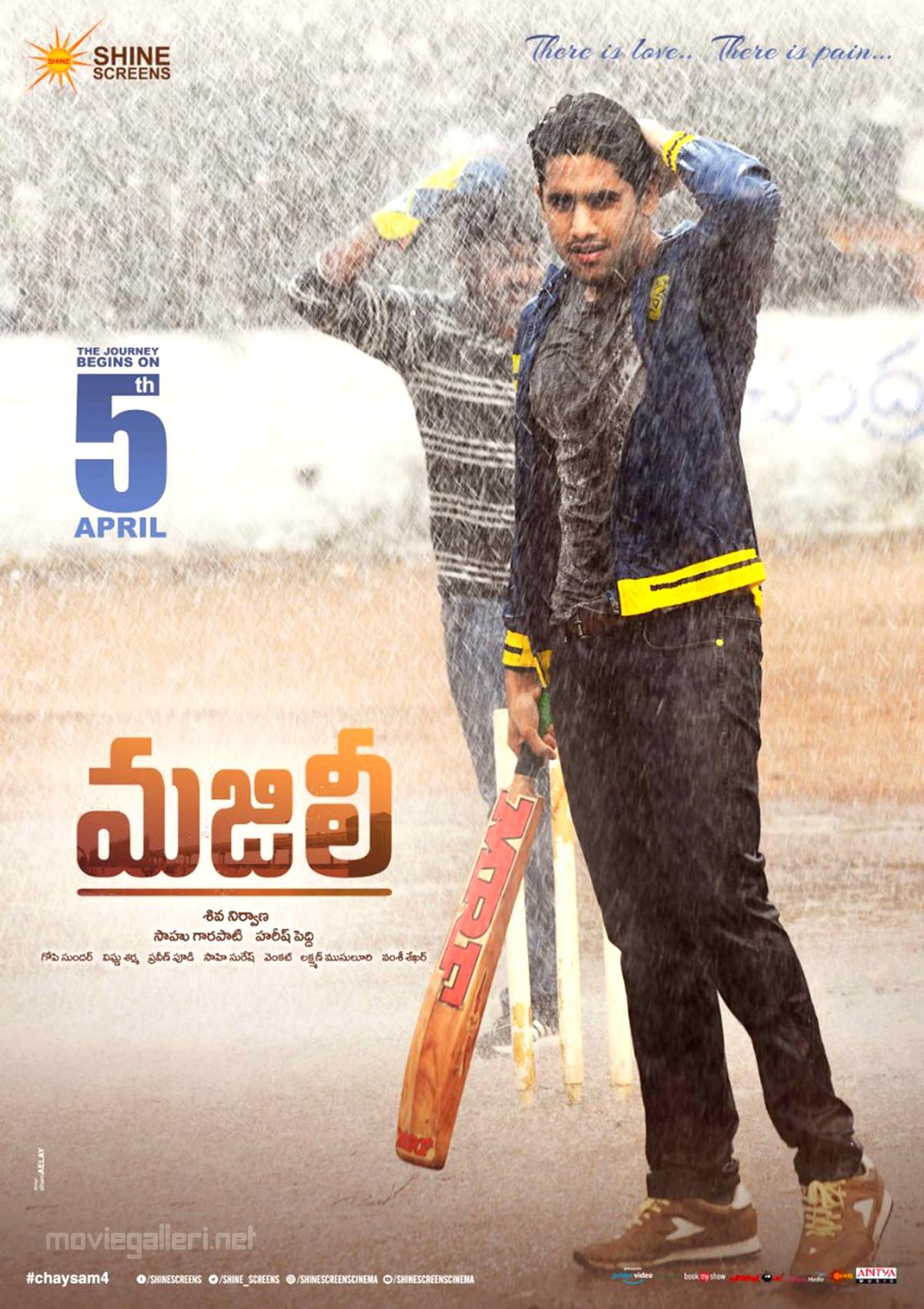 Naga Chaitanya Majili Release Date on 5th April Poster HD