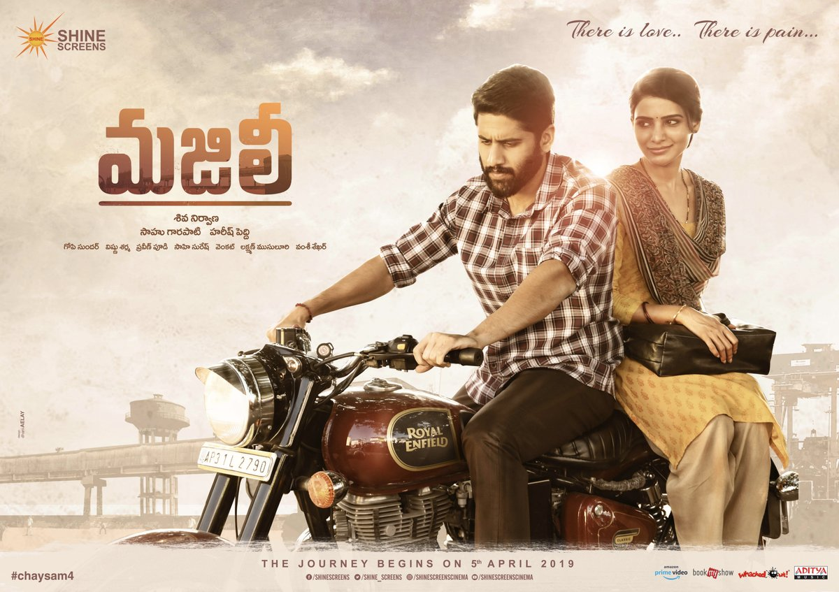 Naga Chaitanya and Samantha's roles from Shiva Nirvana's 'Majili'