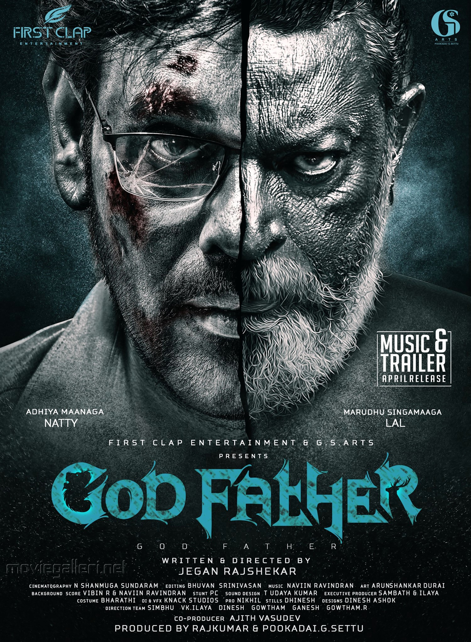 Natty Lal God Father First Look Poster HD