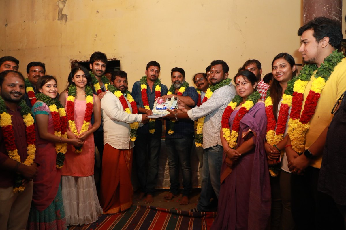 Palak Lalwani, Aadhi, P Madhan @ Partner Movie Pooja Stills