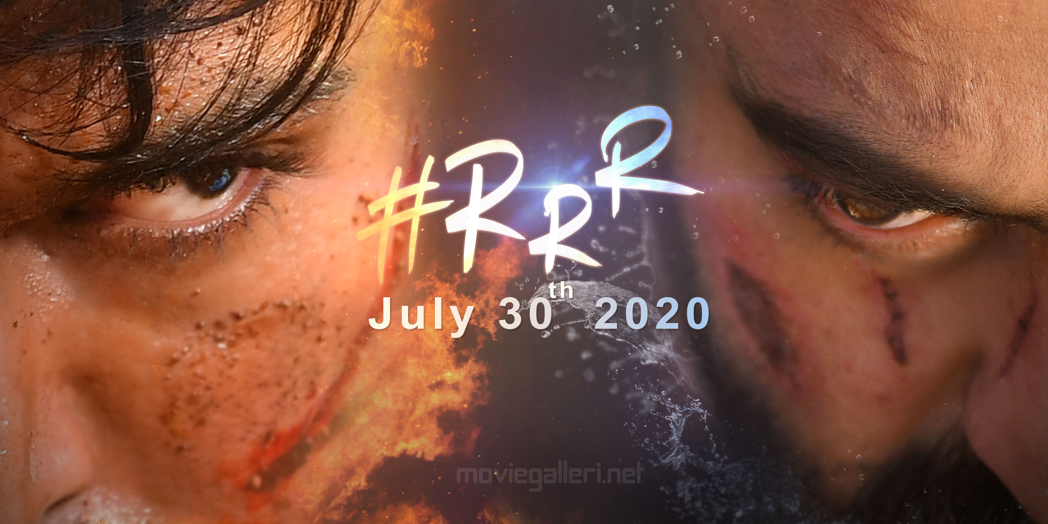 Ram Charan, Jr NTR in RRR Movie Release Date July 30, 2020