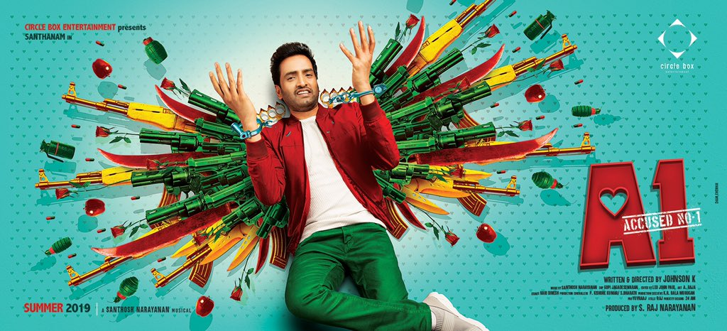 Santhanam Accused No 1 Movie First Look Poster