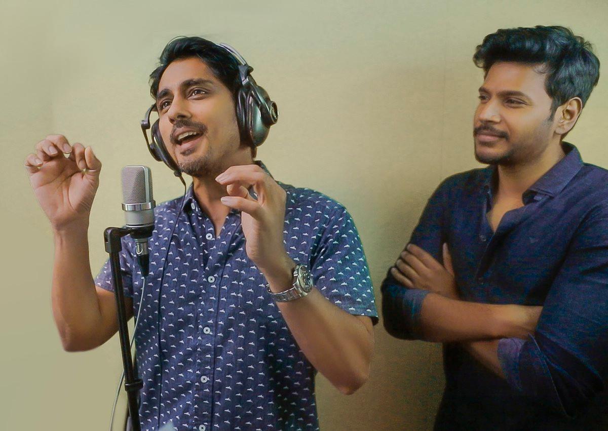 Siddharth sings 'Excuse Me Rakshasi' for Sundeep Kishan