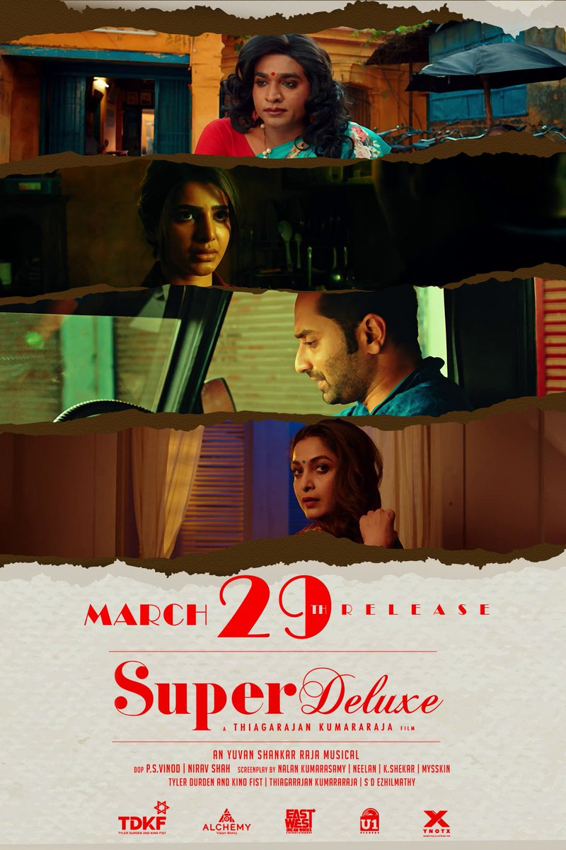 Super Deluxe Movie Release Posters