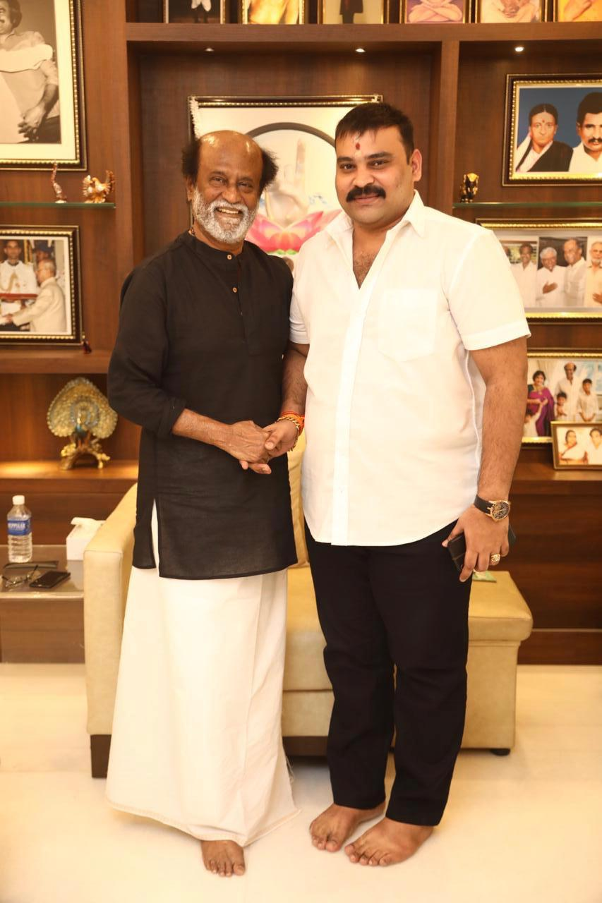 Superstar Rajinikanth appreciates Boomerang Producer