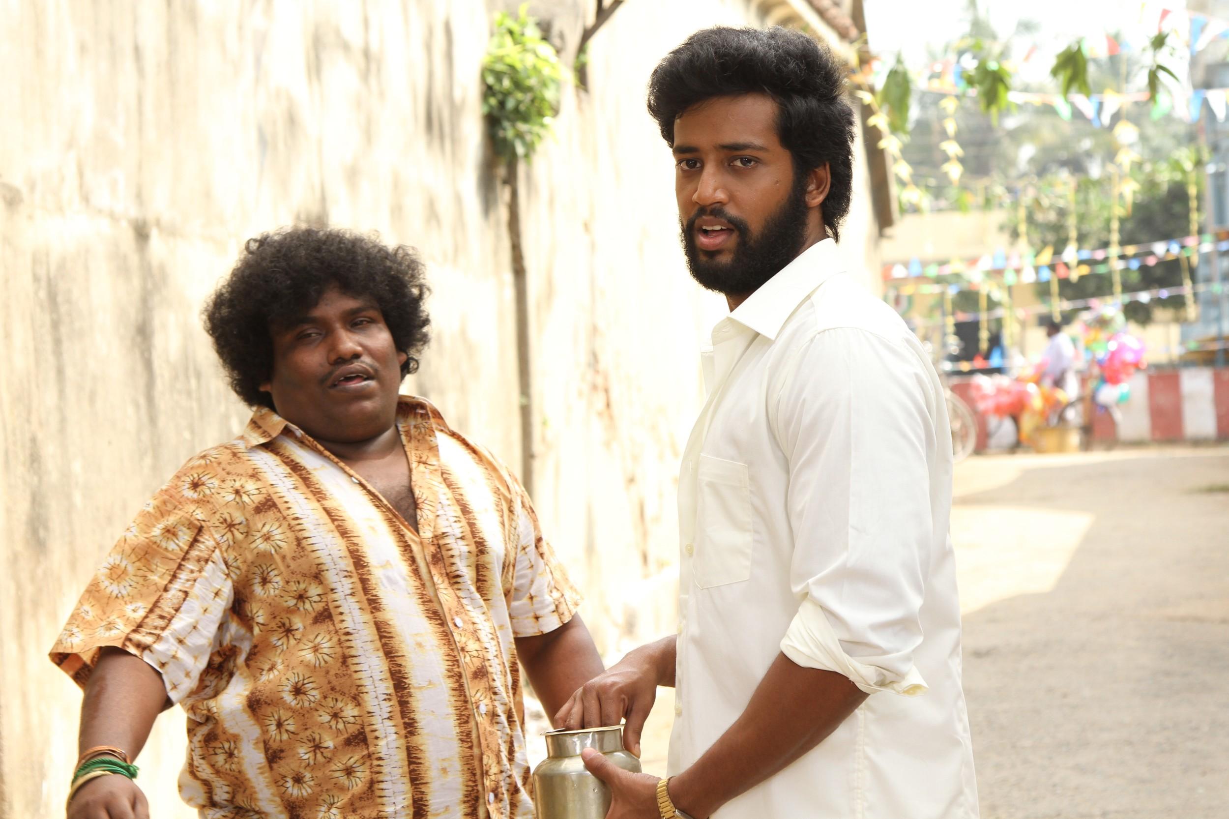 Umapathy & Yogi Babu @ Devadas Movie