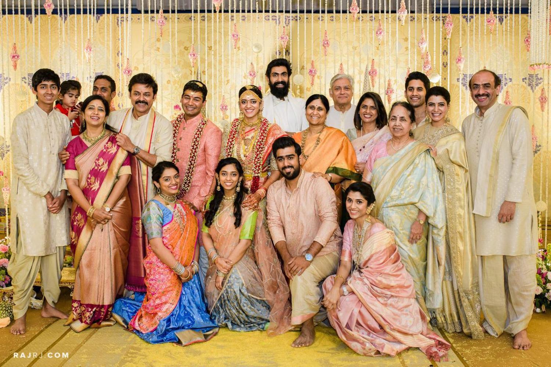 Victory Venkatesh daughter Ashritha Wedding Photos