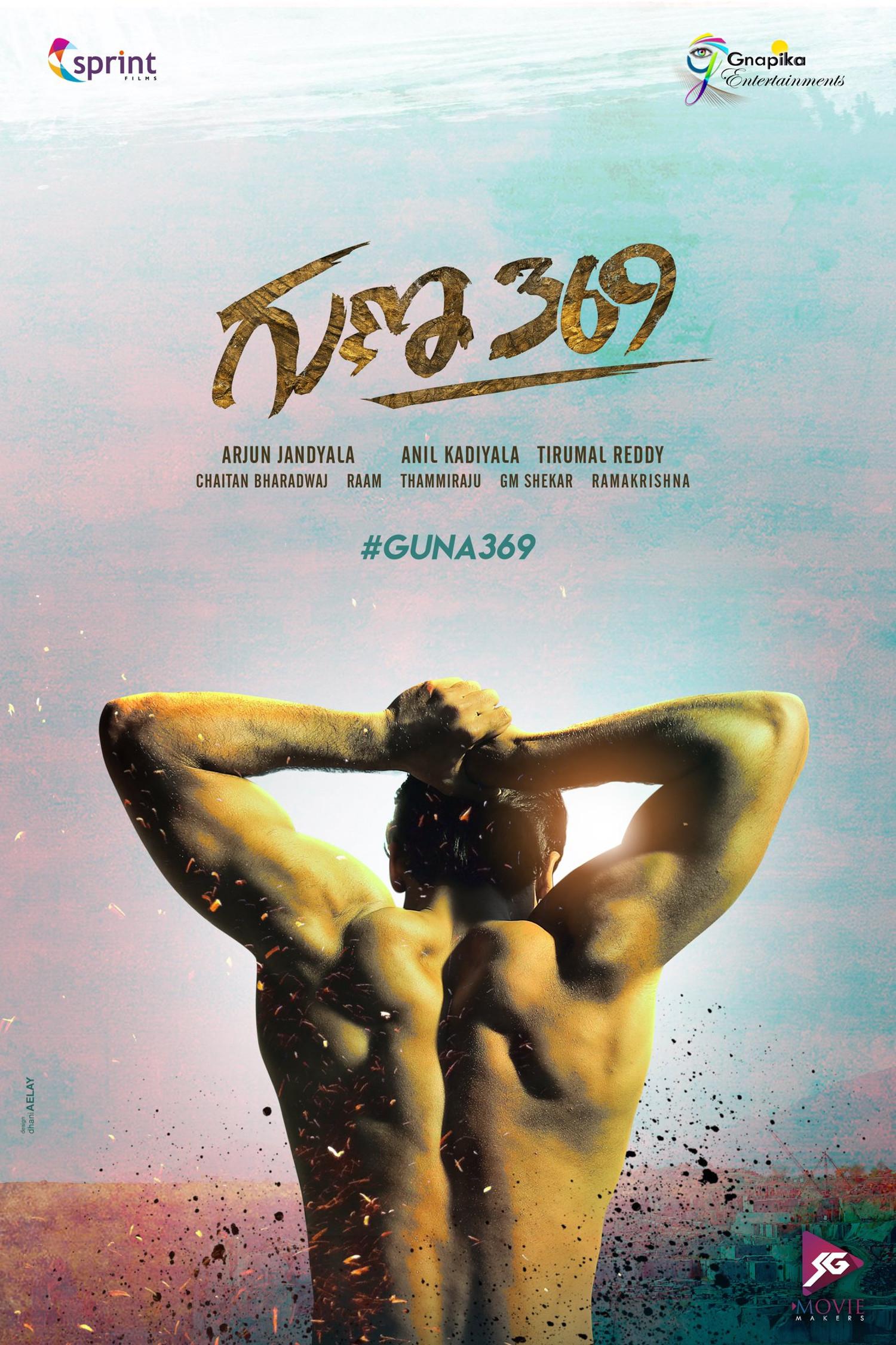Actor Kartikeya Gummakonda Guna 369 movie first look poster HD