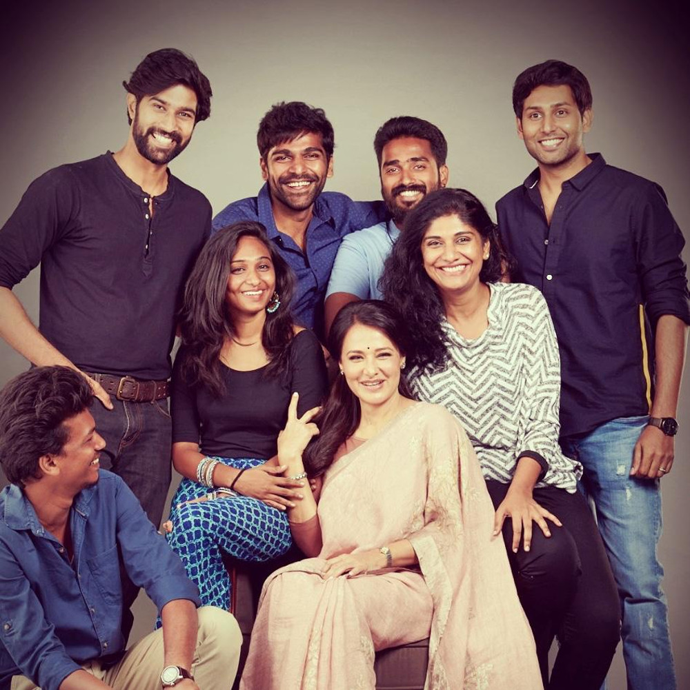 """Actor Krishna's maiden production of web series titled """"High Priestess"""" featuring Amala Akkineni in lead"""