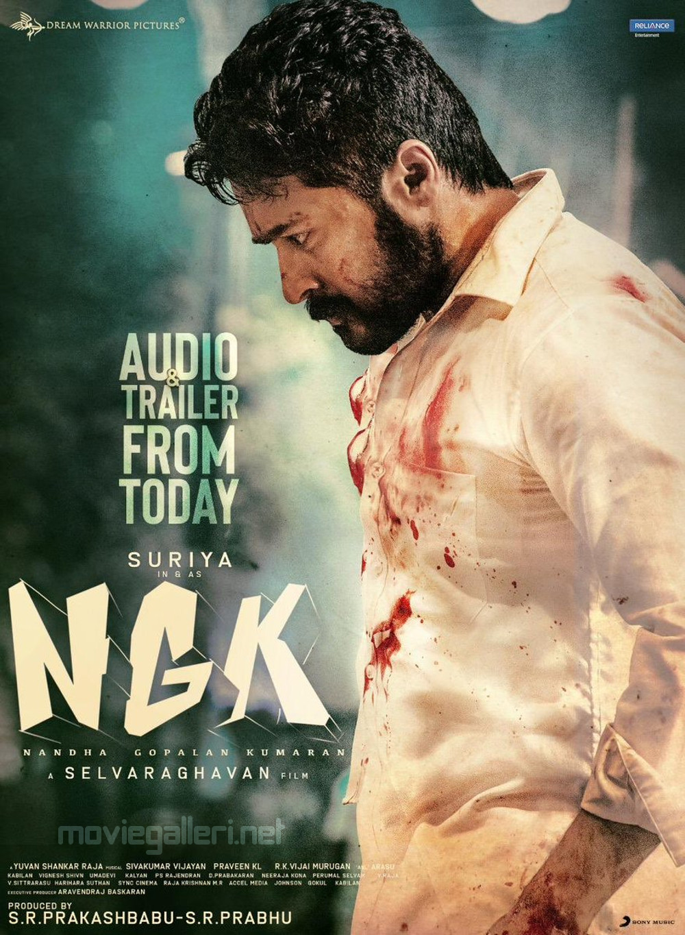 Actor Suriya NGK Movie Audio Trailer Today Release Poster HD
