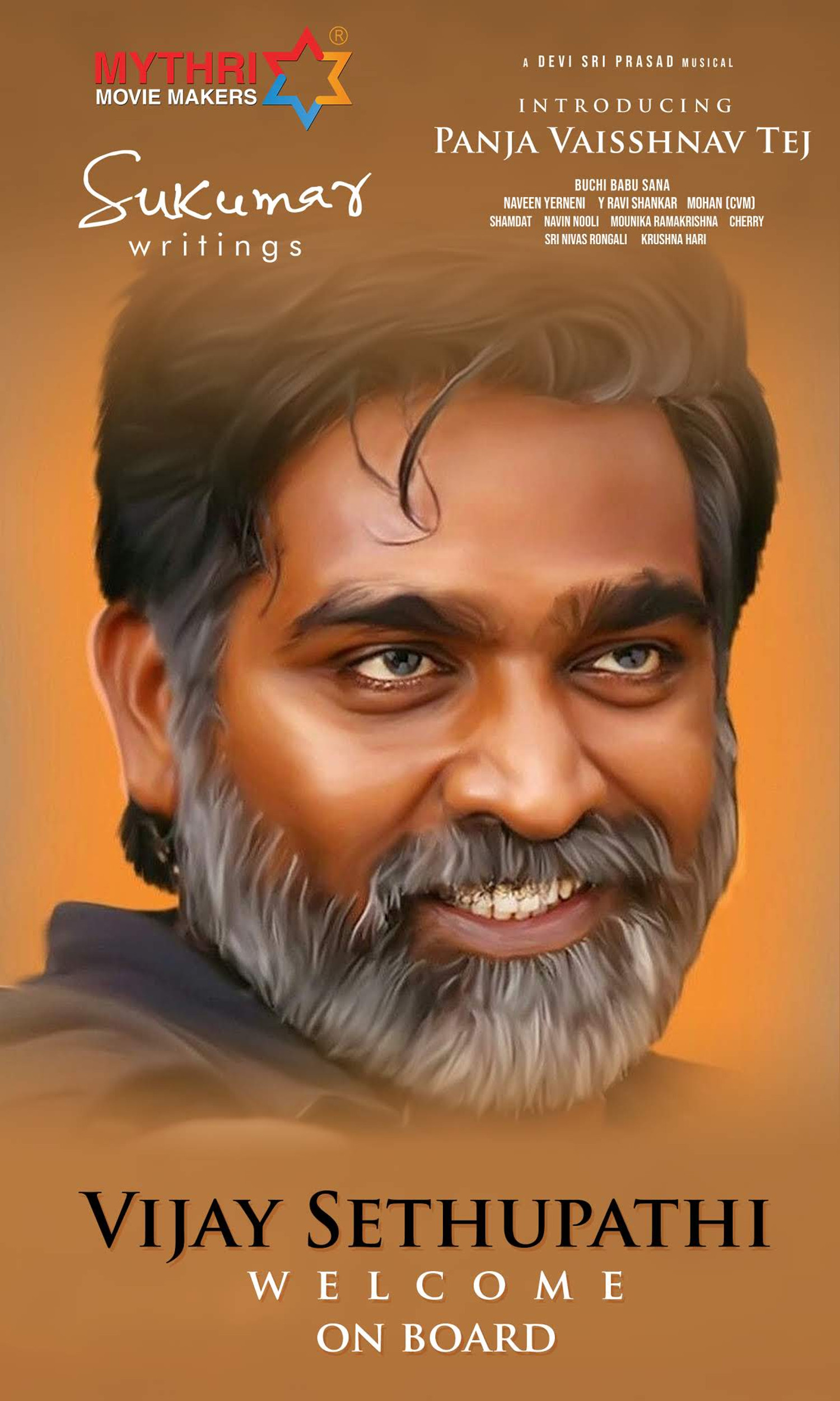 Actor Vijay Sethupathi in Vaisshnav Tej Movie