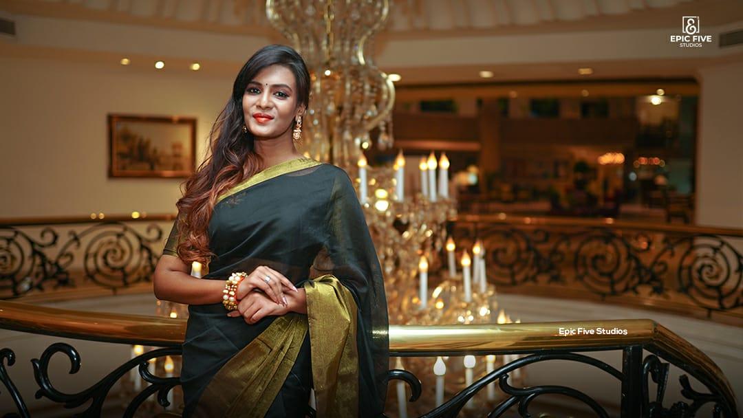 Actress Meera Mitun Pictures @ Miss Tamilnadu Diva 2K19 Launch