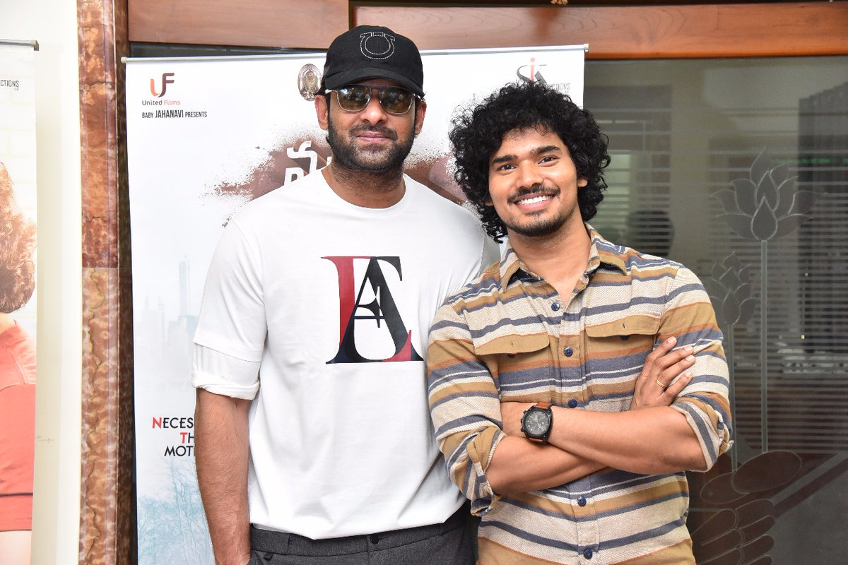 Prabhas & Sudhakar Komakula @ Nuvvu Thopu Raa Trailer Launch Photos