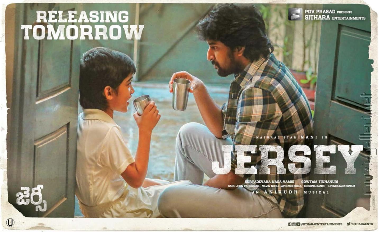 Ronit Kamra Nani Jersey Movie Releasing Tomorrow Posters