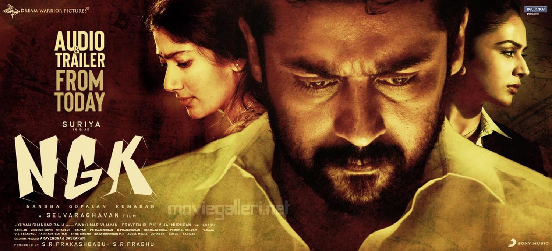 Sai Pallavi Suriya Rakul Preet NGK Audio & Trailer Today Release Poster HD