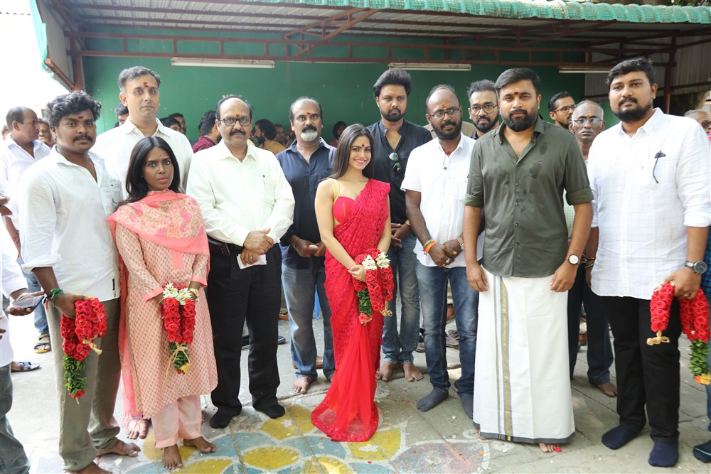 Sasikumar Kalapatru Pictures Production No 3 Movie Pooja Stills 656e43f