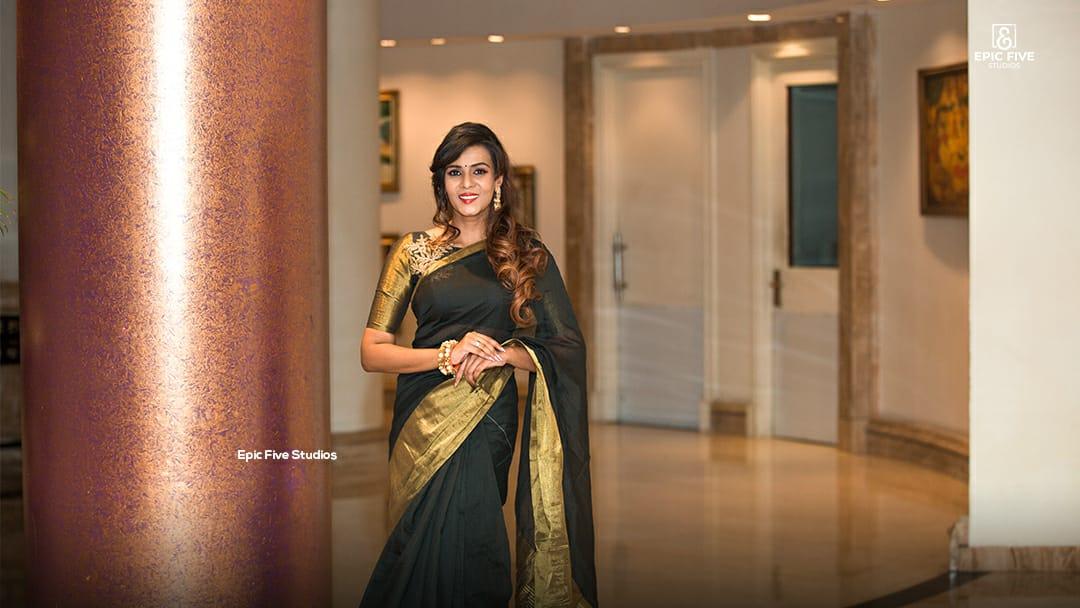 Tamil Actress Meera Mithun @ Miss Tamilnadu Diva 2K19 Launch Pictures
