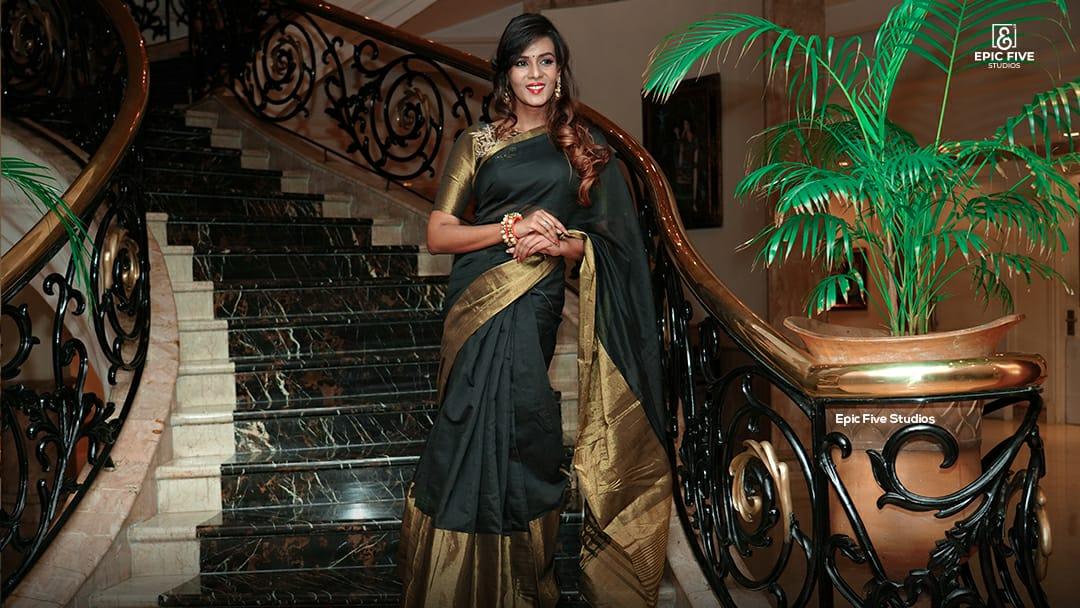 Tamil Actress Meera Mitun Pictures @ Miss Tamilnadu Diva 2K19 Launch