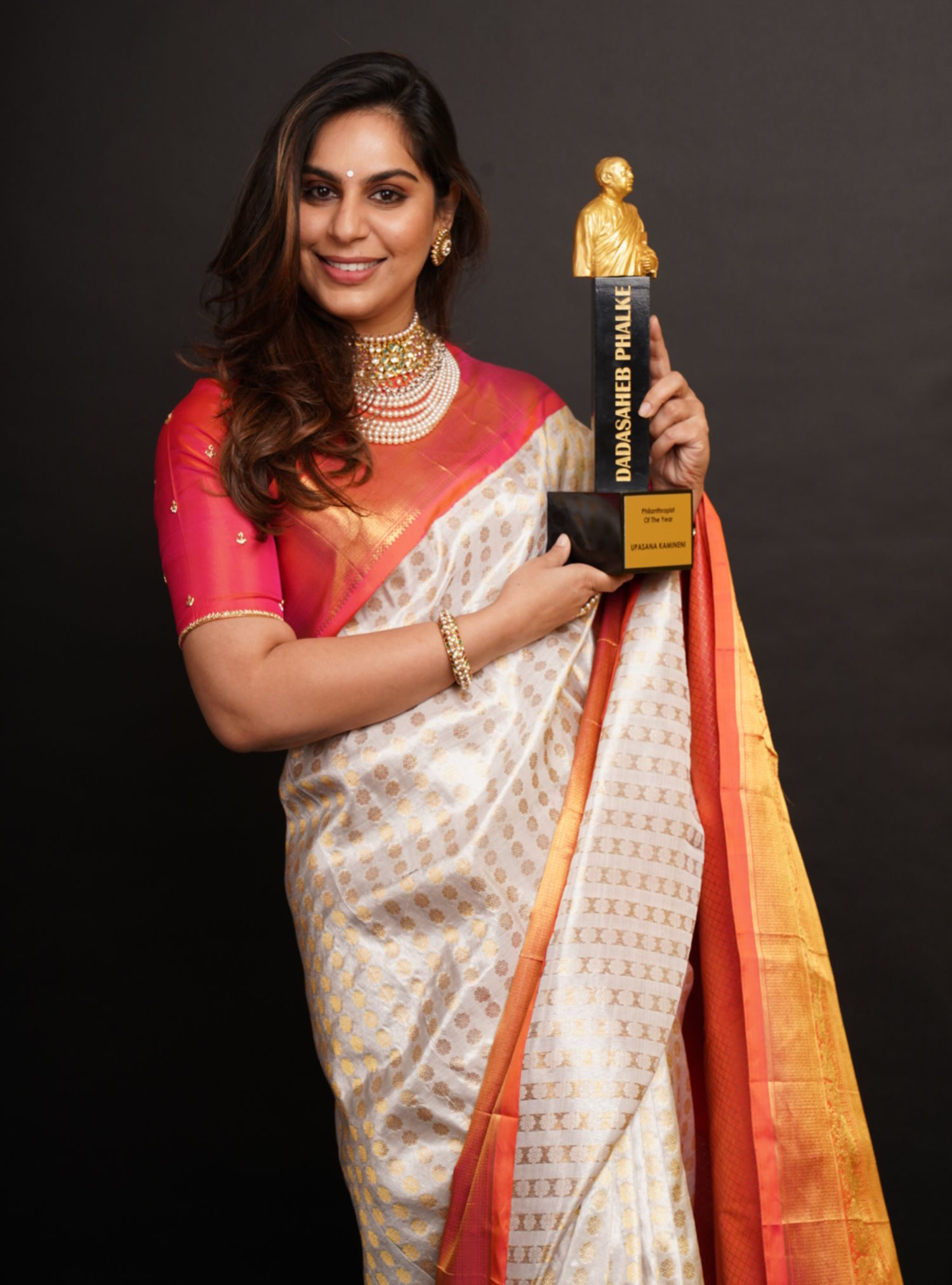 Upasana Kamineni, Vice Chairman, Apollo Foundation honored as 'Philanthropist of the Year' at Dadasaheb Phalke Excellence Awards 2019