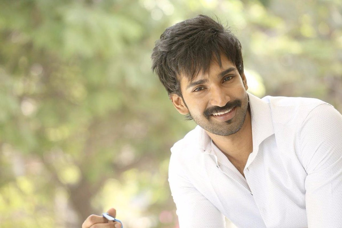 Aadhi Pinisetty as an athlete in Bilingual Sports Drama