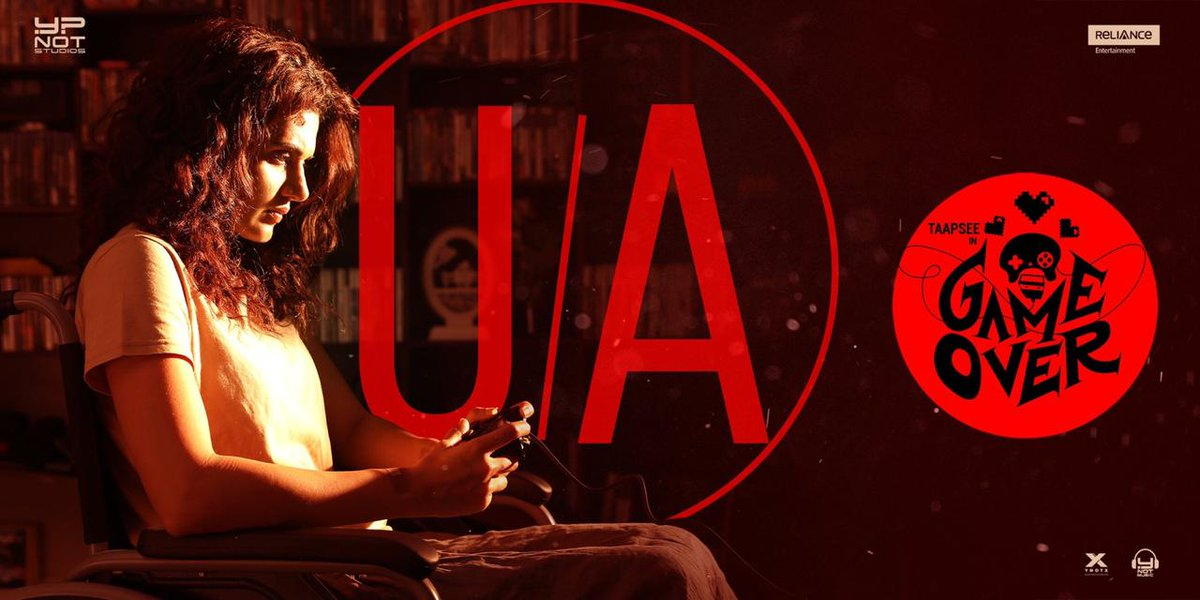 Actress Taapsee Game Over Movie Censored UA Certficate