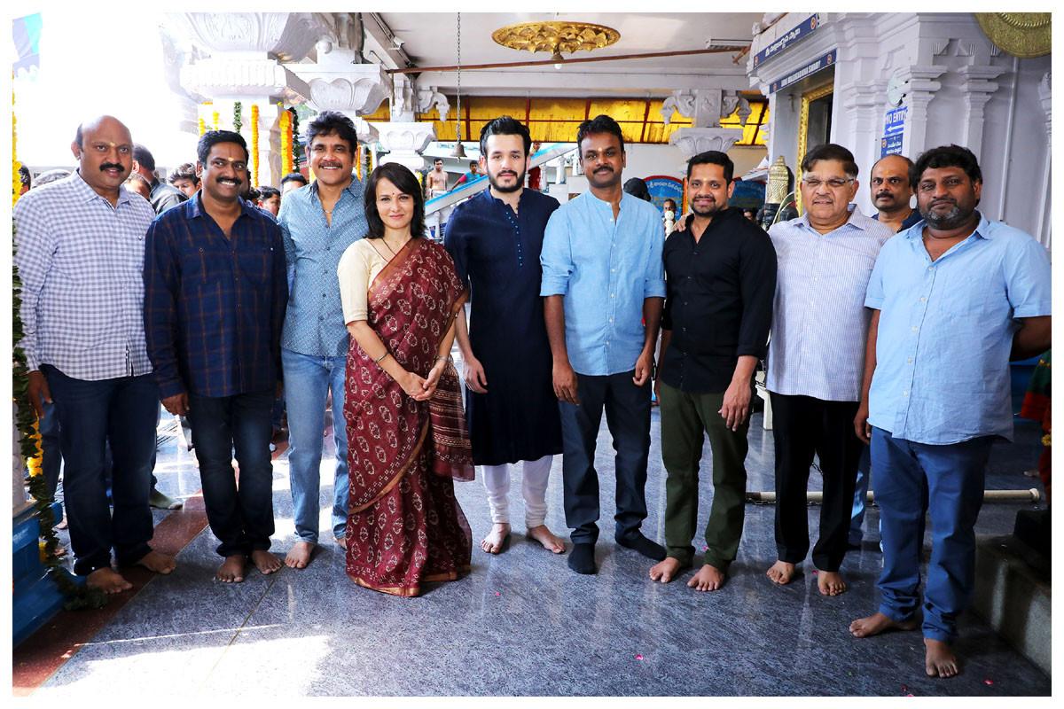Akhil Akkineni Bommarillu Bhaskar Movie Opening