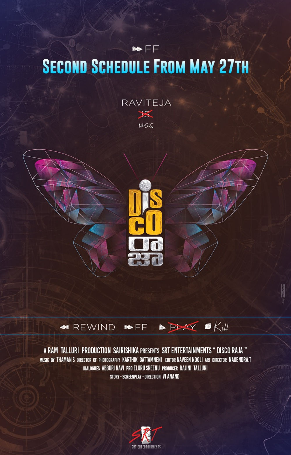 Disco Raja Second Schedule will go on floors from May 27th