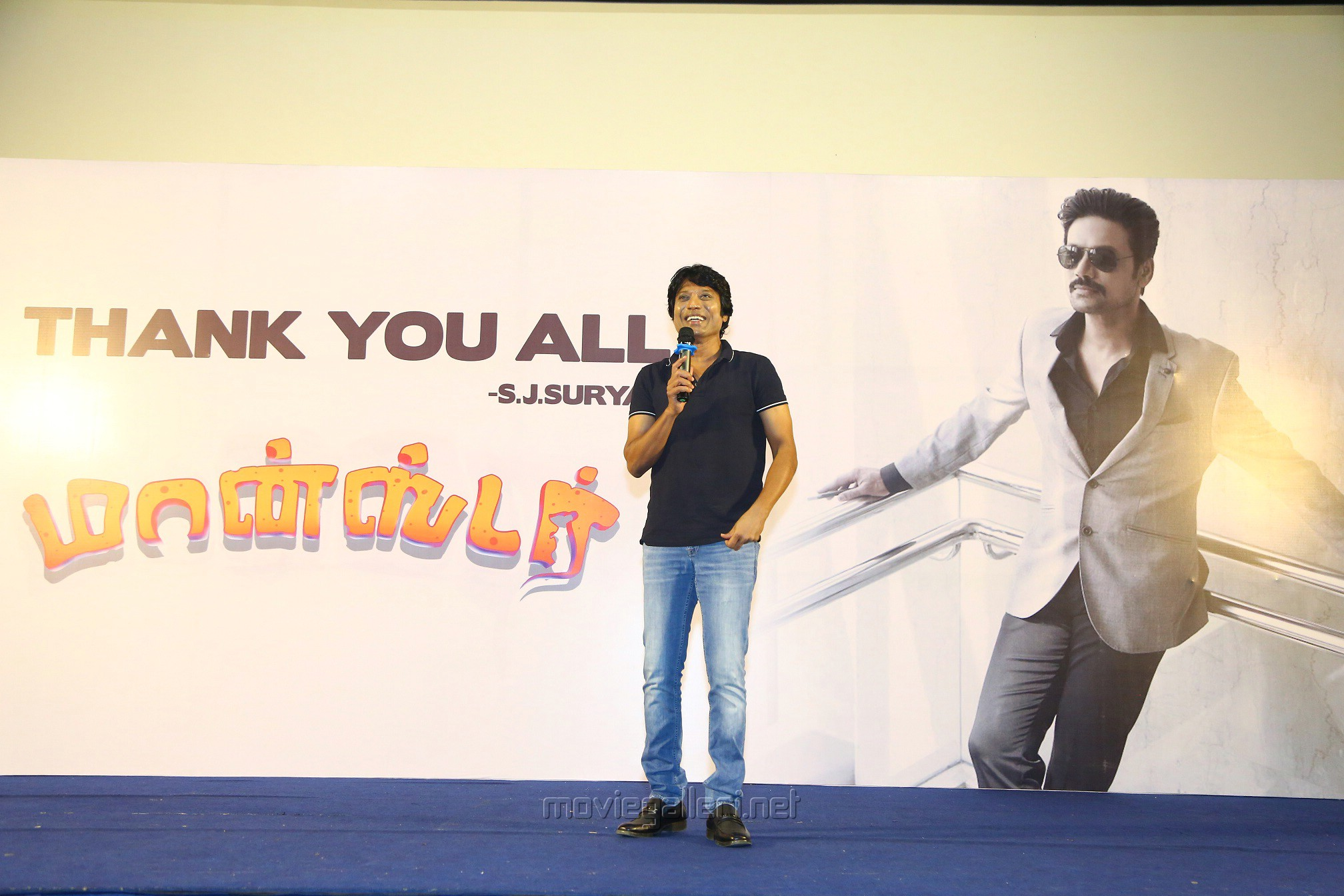 Hero SJ Suryah Monster Movie Thanks Meet Stills