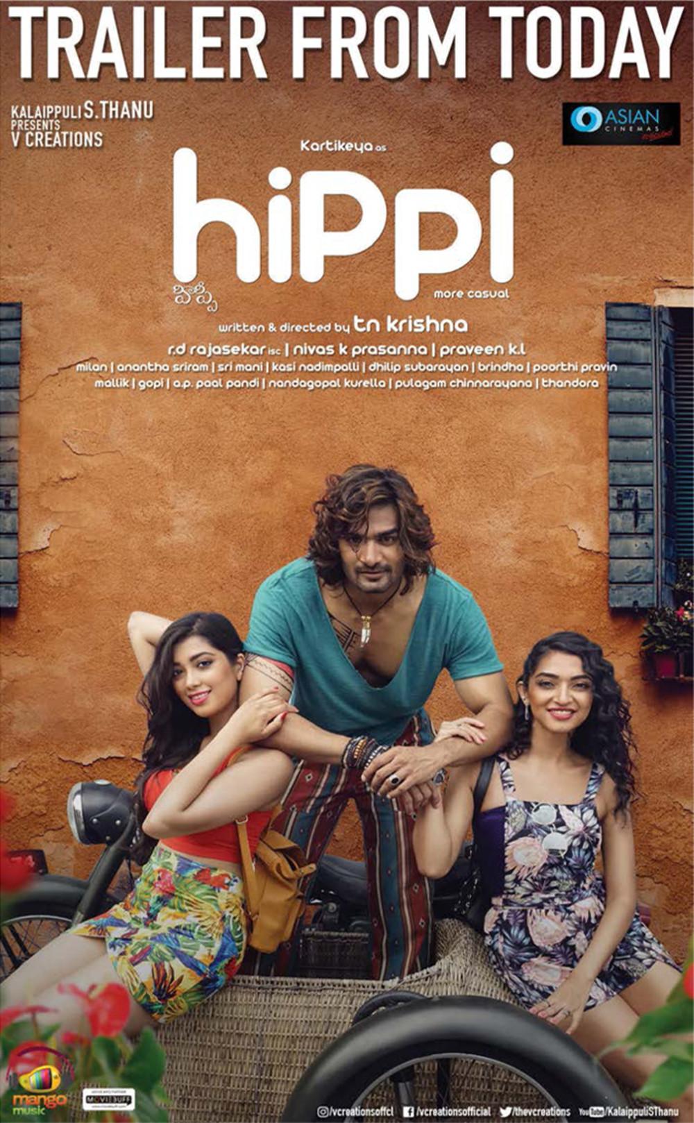 Hippi Movie Trailer Release Posters Kartikeya Digangana Suryavanshi 05c7b38