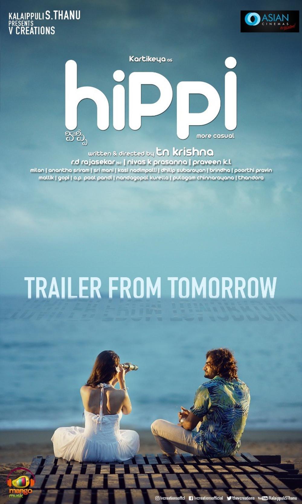 Hippi Movie Trailer Release Posters Kartikeya Digangana Suryavanshi 14273aa