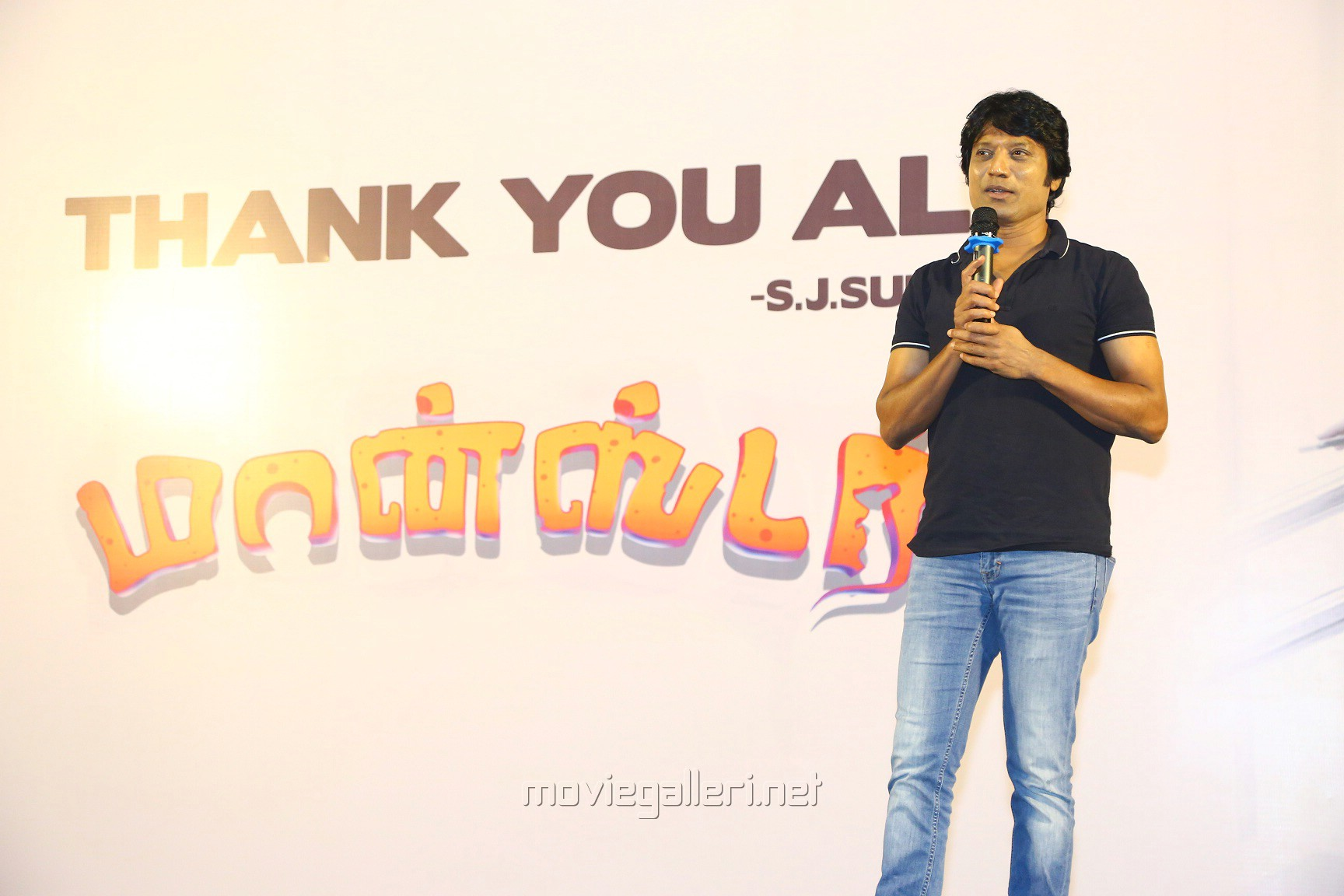 Monster Movie Hero SJ Surya Thanks Meet Stills