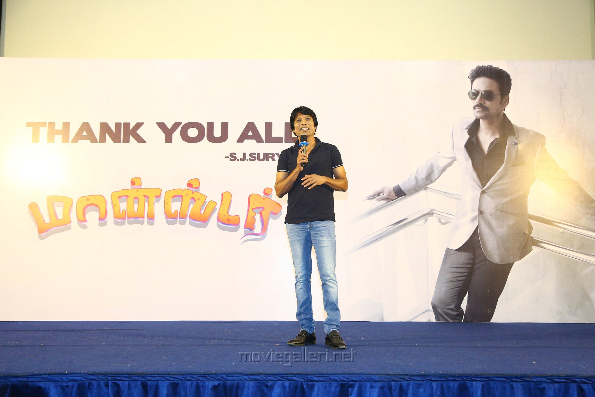 Monster Movie Hero SJ Suryah Thanks Meet Stills