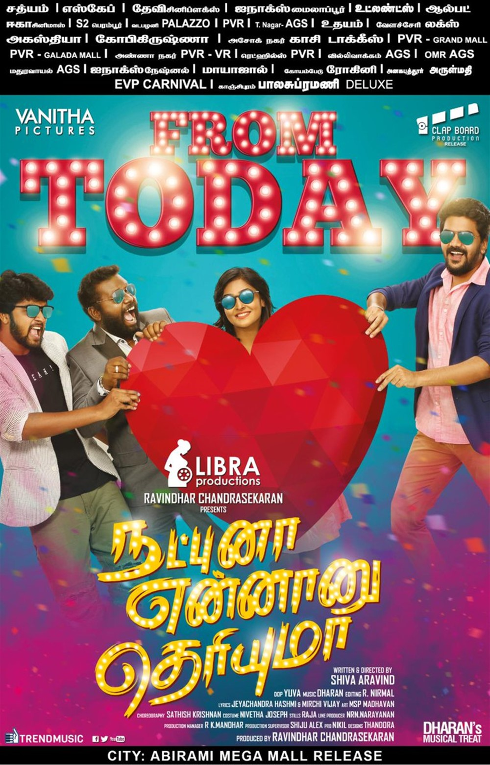 Natpuna Ennanu Theriyuma Movie Release Today Posters