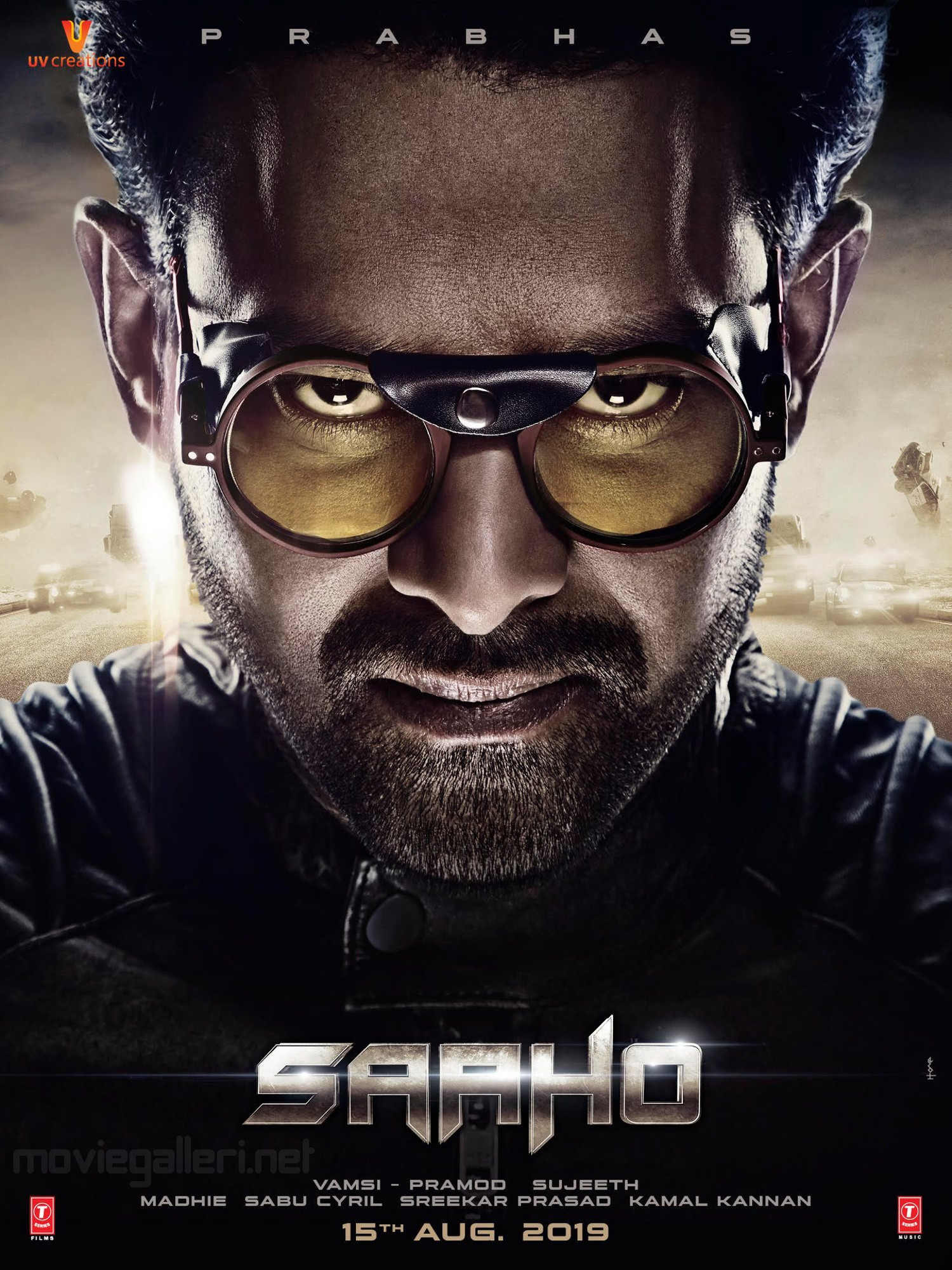 Prabhas Saaho Movie Release Date 15th Aug Poster HD