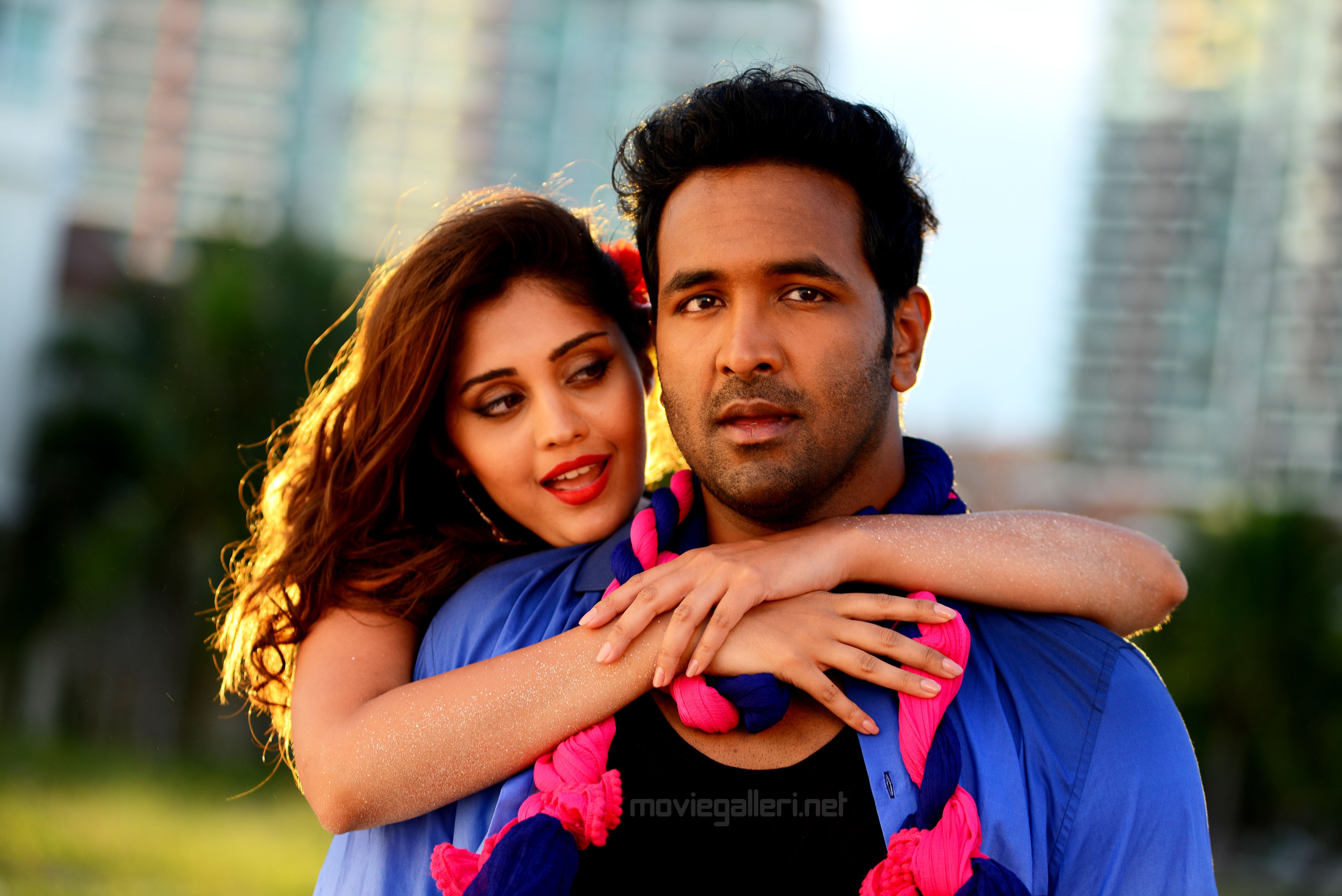 Surbhi & Manchu Vishnu @ Voter Movie Releasing in June